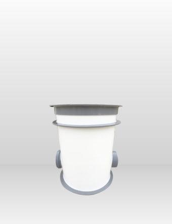 Revízna šachta plastová Plastbest DN160/480x600