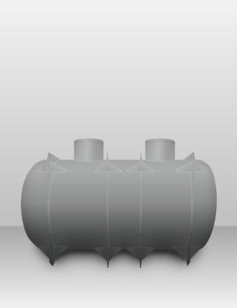 Septik plastový Plastbest 10m³ troj-komorový