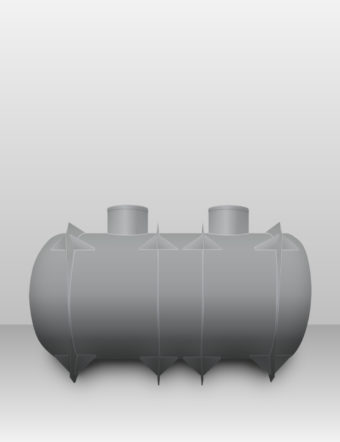 Septik plastový Plastbest 11m³ dvoj-komorový