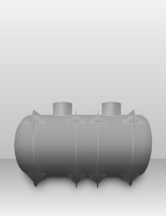 Septik plastový Plastbest 12m³ dvoj-komorový