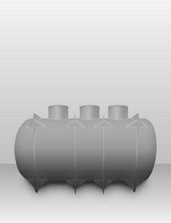 Septik plastový Plastbest 12m³ troj-komorový