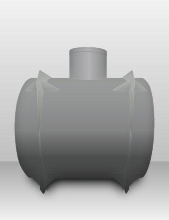 Septik plastový Plastbest 3m³ dvoj-komorový