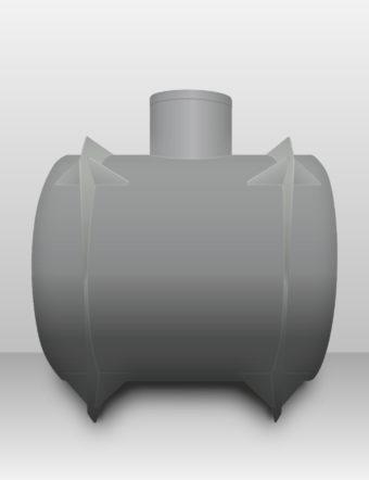 Septik plastový Plastbest 5m³ dvoj-komorový