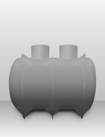 Septik plastový Plastbest 7m³ dvoj-komorový