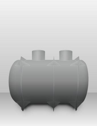 Septik plastový Plastbest 8m³ dvoj-komorový
