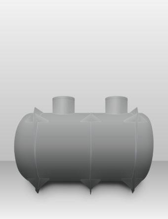 Septik plastový Plastbest 9m³ dvoj-komorový