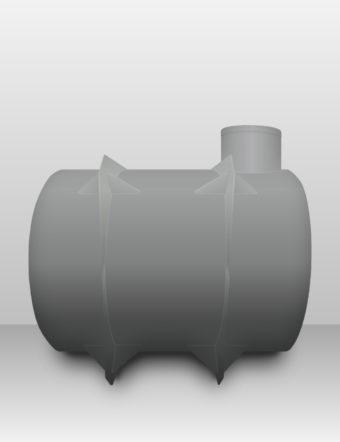 Jímka plastová Plastbest 6m³