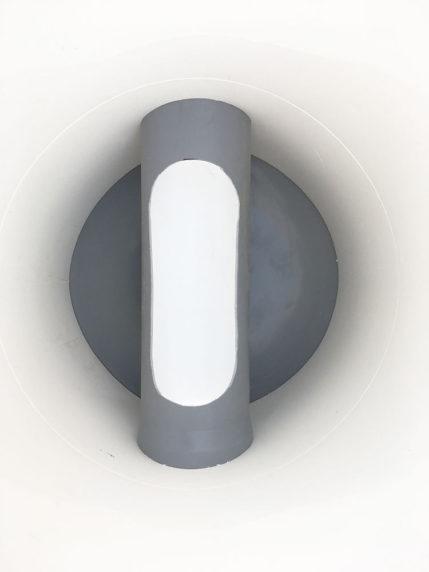 Revizní šachta plastová Plastbest DN160/480x600 - pohled dovnitř