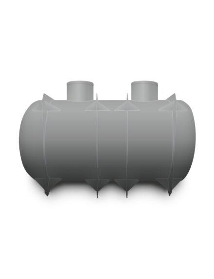 Septik plastový Plastbest 10m³ dvoj-komorový