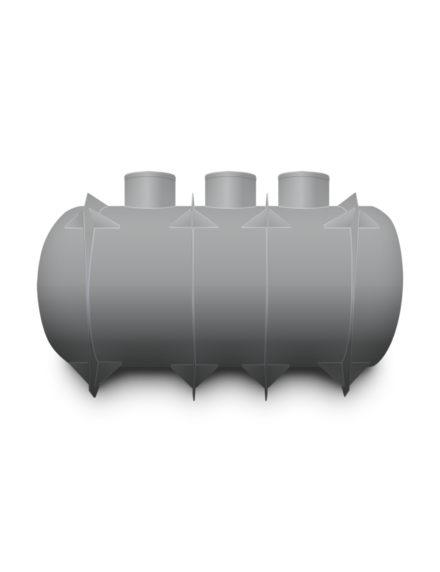 Septik plastový Plastbest 12m³ tří-komorový