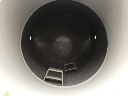 Vodoměrná šachta plastová Plastbest 1300x1000 - pohled dovnitř