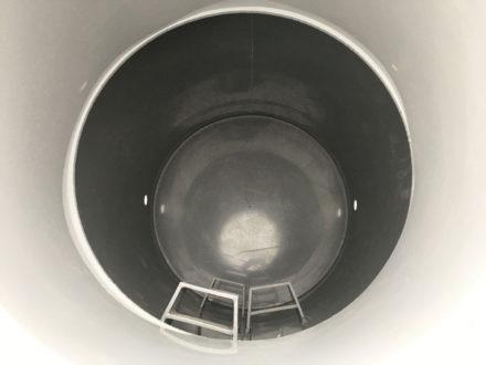 Vodomerná šachta plastová Plastbest 1600x1000 - pohľad dovnútra