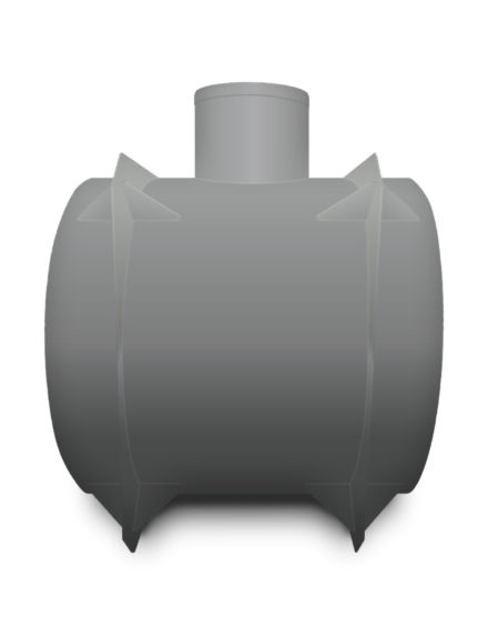 Žumpa plastová Plastbest 4m³